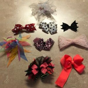 Hair Bows Lot For Girls
